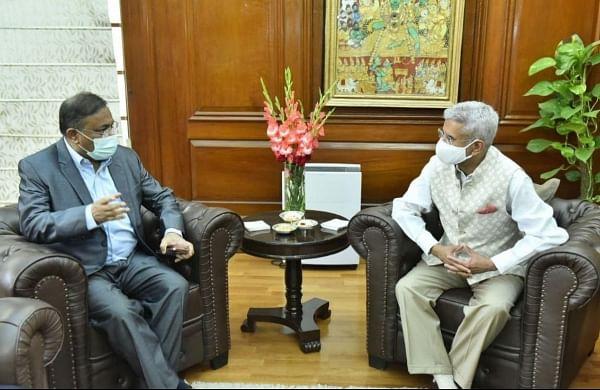 External Affairs Minister Jaishankar meets Bangladesh I&B MinisterHasan Mahmud