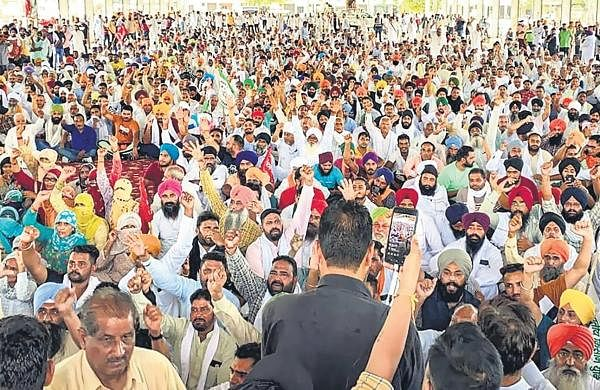 Farmers' protest: Talks with officials 'fail', leadersgather in Karnal for mahapanchayat