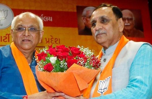Gujarat CM-designate Bhupendra Patel meets predecessor Vijay Rupani ahead of swearing-in ceremony