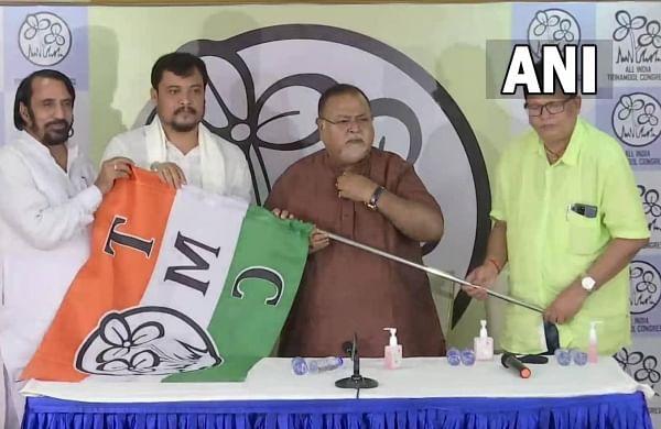 Kaliaganj BJP MLA Soumen Roy returns to Trinamool Congress