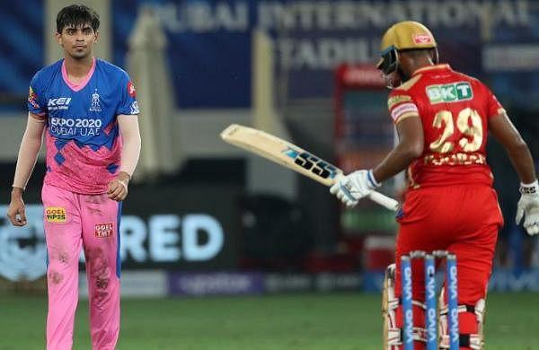 Karthik Tyagi scripts incredible two-run win for Rajasthan Royalsagainst Punjab Kings