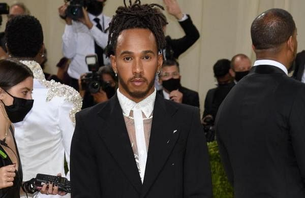 Lewis Hamiltoncourts controversy by supporting 'Black creatives' in Met Gala