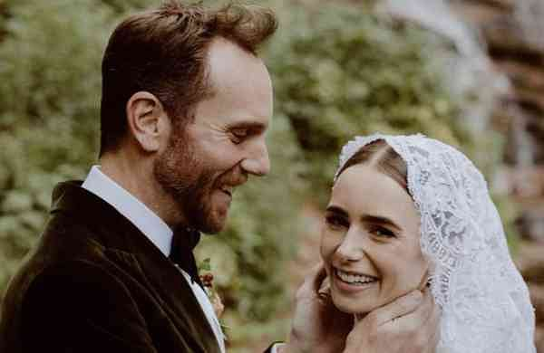 Lily Collins, Charlie McDowell tie the knot