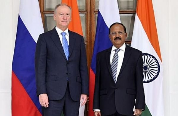 NSA Ajit Doval, top Russian security official hold talks on Afghanistan crisis