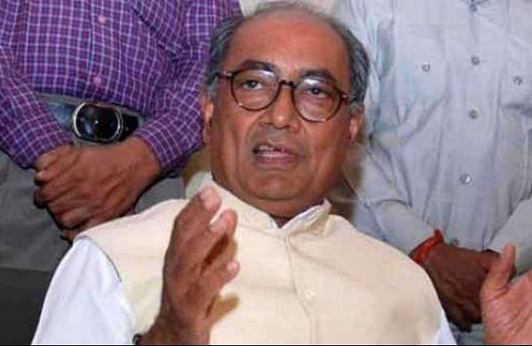 Nitish puppet in hands of PM, BJP: Digvijaya Singh
