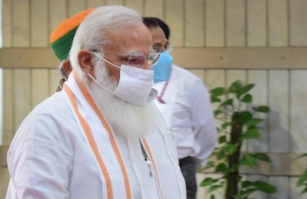 PM Modi lays foundation stone of Raja Mahendra Pratap Singh University in UP's Aligarh