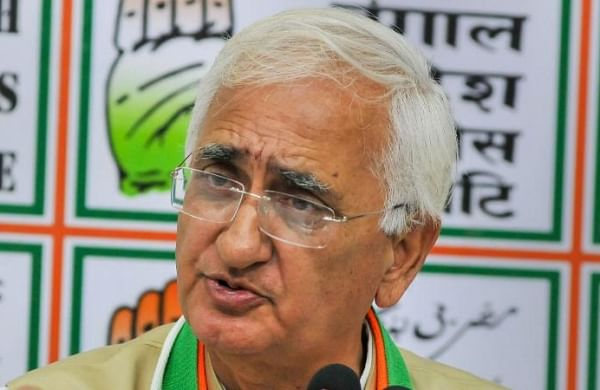Party that gets 120-130 Lok Sabhaseats will lead Opposition front: Salman Khurshid