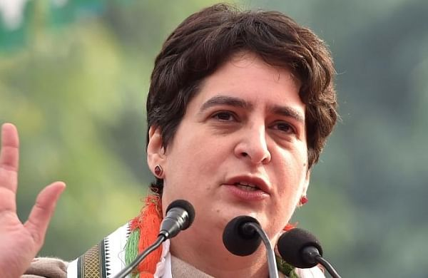 Priyanka Gandhi tours Rae Bareli constituency to energise workers in view of UP assembly polls