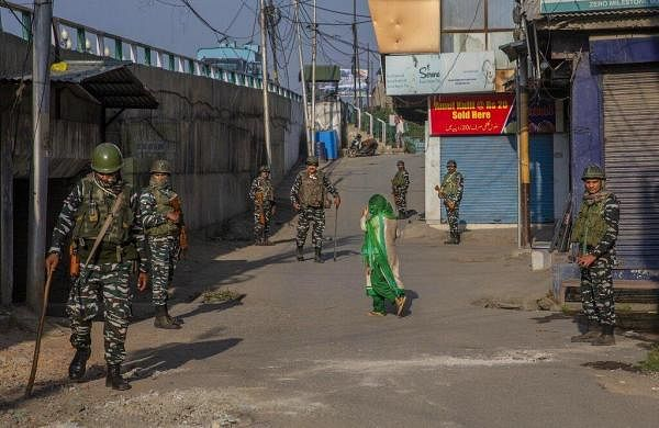 Restrictions eased out in Kashmir but security forces continue to remain deployed
