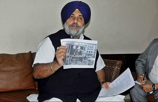 SAD chiefSukhbir Singh Badal urges PM Narendra Modi to invite protesting farmers for talks