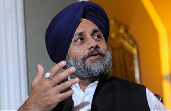 SAD chief Sukhbir Singh Badal urges farmers to join his party's protest march on September 17
