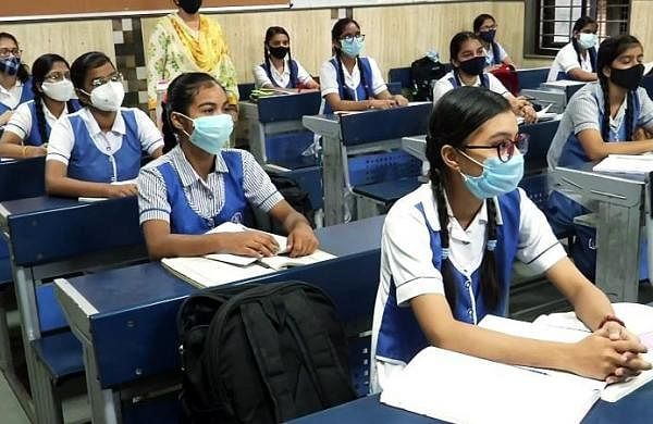 Schools for classes 6 to 8 reopen in Bhopal with COVID-19 protocols in place