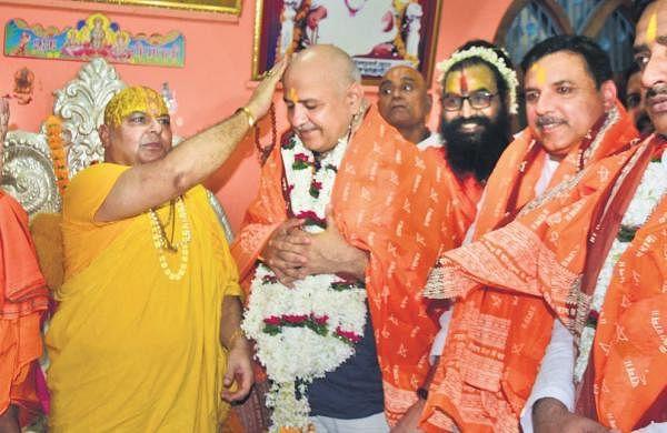 Sought divine blessings in Ayodhya to oust BJP govtin Uttar Pradesh, says Manish Sisodia