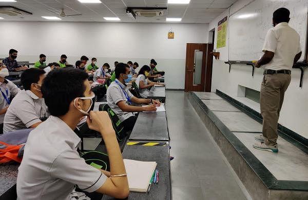 Students return to Kota as coaching institutes reopen with Covid measures in place
