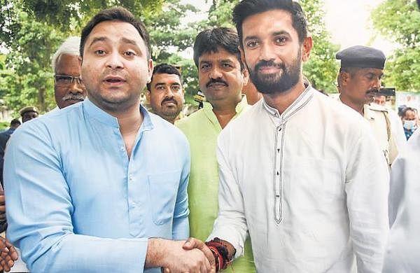 Tejashwi Yadav, Chirag Paswan meet sets off Bihar rumour mills