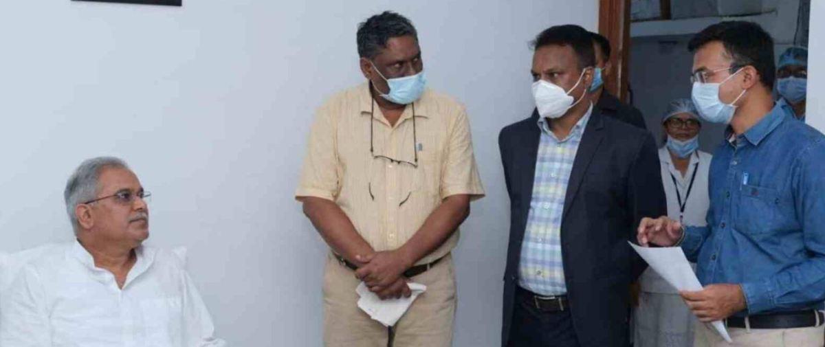मुख्यमंत्री ने चाना संस्था द्वारा प्रदत्त 12 वेंटिलेटर स्वास्थ्य विभाग को सौंपे