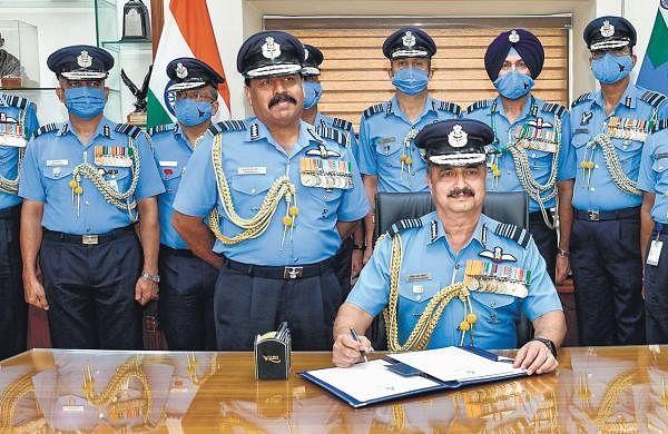 Chaudhari takes over as IAF chief
