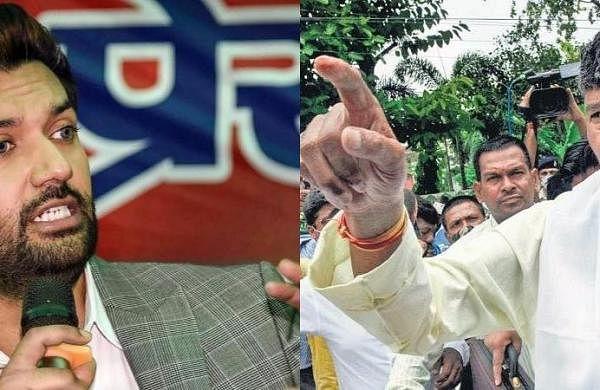 EC freezes LJP symbol till dispute between Chirag Paswan, Pashupati Paras factionssettled