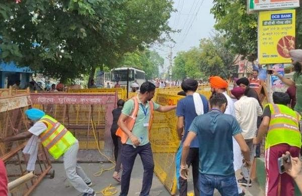 Farmers break barricades, face water cannons in Punjab, Haryana during protest