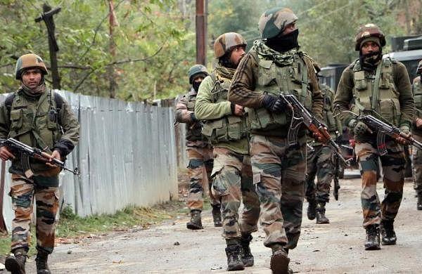 Fresh encounter underway between terrorists, security forces in J&K's Poonch, jawan injured