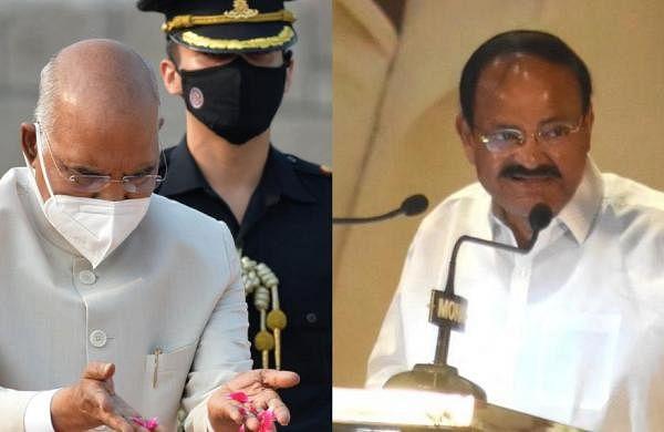 Gandhi Jayanti: President Ram Nath Kovind, Vice President M Venkaiah Naidu pay tributes at Raj Ghat