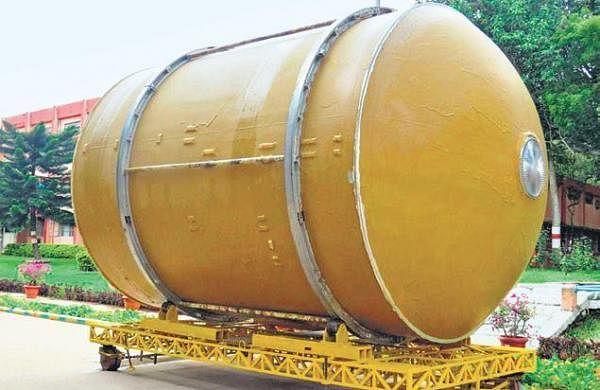 HAL gives semi-cryogenic propellant tank to ISRO
