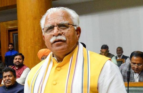 Khattar asks Haryana's BJP Kisan Morcha to 'pick up sticks' against protesting farmers