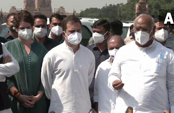 Lakhimpur violence: Congress delegation meets President, demands sacking of MoS Ajay Mishra