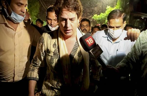 'Not as important as those trampled to death': Priyanka Gandhi on altercation with UP Police
