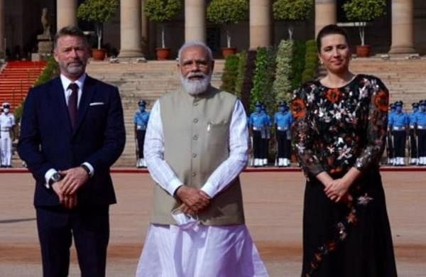 PM Narendra Modi meets Danish counterpart MetteFrederiksen on her first state visit to India