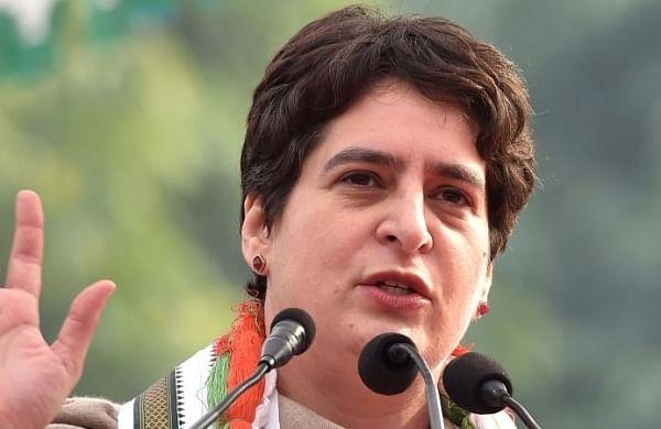 Priyanka Gandhi invokes Goddess Durga, urges people to chant 'Jai Mata Di' at Varanasi rally